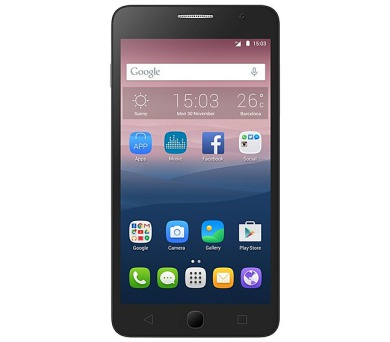 Mobilní telefon ALCATEL ONETOUCH 5022D POP STAR Black