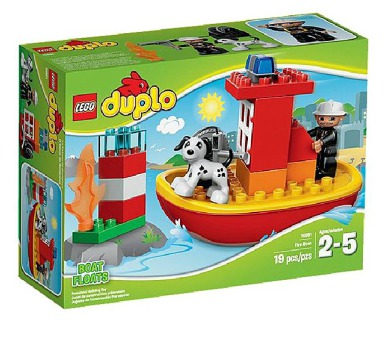 Stavebnice Lego® DUPLO Ville 10591 Hasičský člun