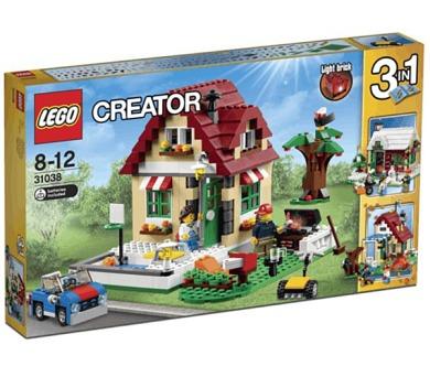 Stavebnice Lego® Creator 31038 Změny ročních období