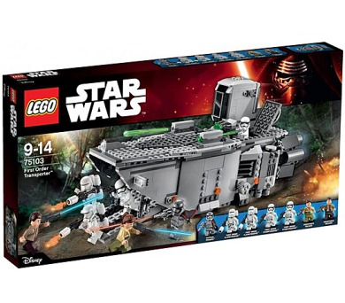 Stavebnice Lego® Star Wars 75103 First Order Transporter + DOPRAVA ZDARMA