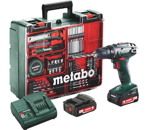 Metabo BS 14.4 Set MD 2x2,0Ah