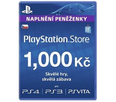 Předplacená karta PlayStation Live Cards Hang 1000Kč - pouze pro CZ PS Store
