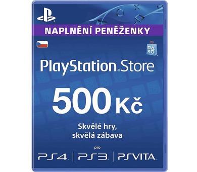 Předplacená karta PlayStation Live Cards Hang 500Kč - pouze pro CZ PS Store