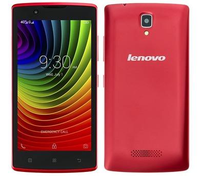 Lenovo A2010 DualSIM LTE - červený
