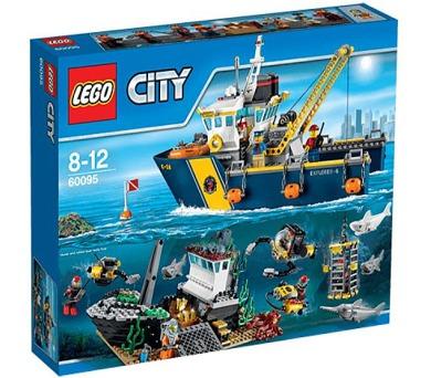 Stavebnice Lego® City Deep Sea Explorers 60095 Plavidlo pro hlubinný mořský výzkum