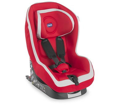 Chicco Go-One Isofix 2016 Red 9-18 kg SP - červená + DOPRAVA ZDARMA