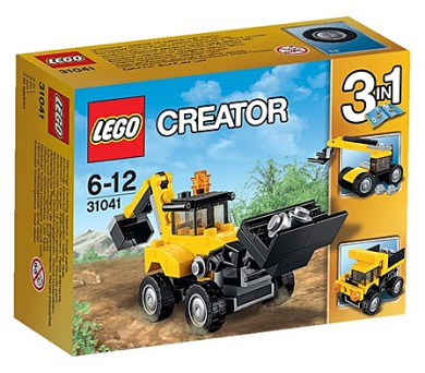 Stavebnice Lego® Creator 31041 Vozidla na stavbě