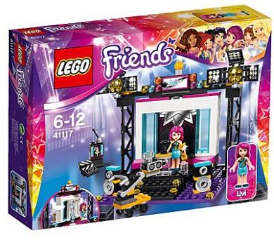 Stavebnice Lego® Friends 41117 TV Studio s popovou hvězdou