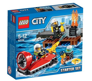 Stavebnice Lego® City Fire 60106 Hasiči – Startovací sada