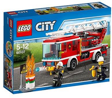 Stavebnice Lego® City Fire 60107 Hasičské auto s žebříkem