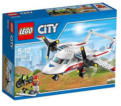 Stavebnice Lego® City Great Vehicles 60116 Záchranářské letadlo