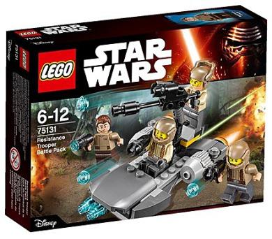 Stavebnice Lego® Star Wars TM 75131 Bitevní balíček Odporu