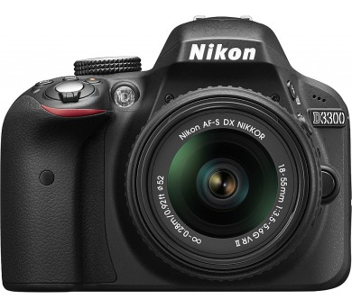 Nikon D3300 + AF-P 18-55 VR + ZDARMA powerbanka Nikon + DOPRAVA ZDARMA