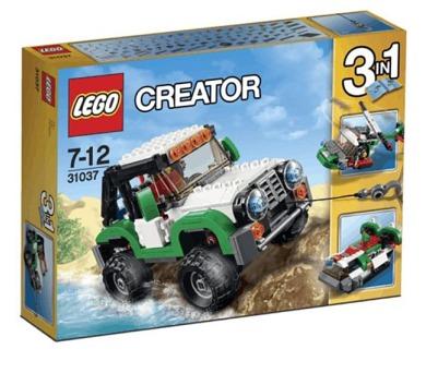 Stavebnice Lego® Creator 31037 Expediční vozidla
