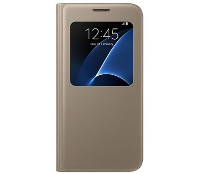 Samsung S-View pro Galaxy S7 (EF-CG930P) - zlaté