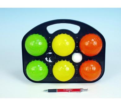 Petanque koule plast 6ks v sáčku