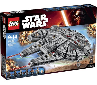Stavebnice Lego® Star Wars 75105 Millennium Falcon