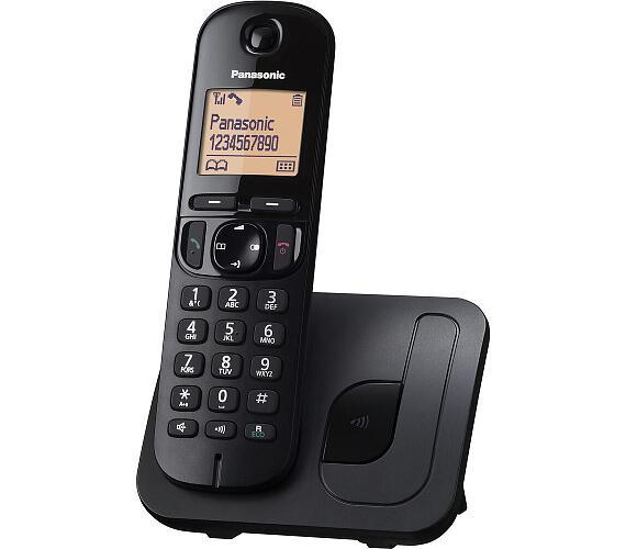 Panasonic KX-TGC210FXB - černý + DOPRAVA ZDARMA