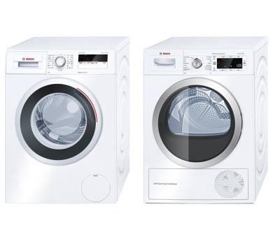 Bosch WAN24160BY + Sušička Bosch WTW85560BY