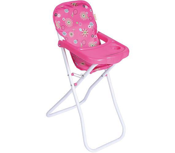 Židlička pro panenky vysoká kov/plast 33x26x60cm v sáčku + DOPRAVA ZDARMA