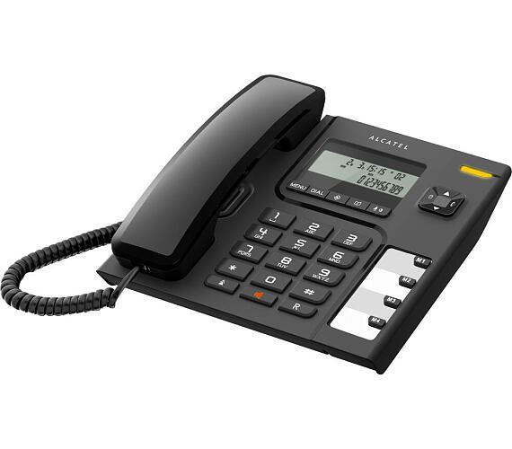 Klasický stolní telefon Alcatel Temporis 56 tel LCD Black