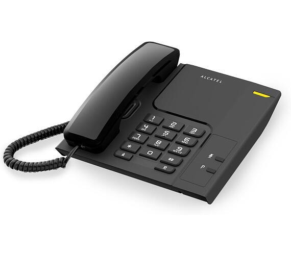 Klasický stolní telefon Alcatel Temporis 26 Black