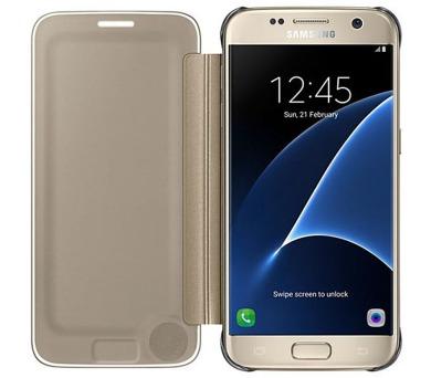 Samsung Clear View pro Galaxy S7 (EF-ZG930C) - zlaté