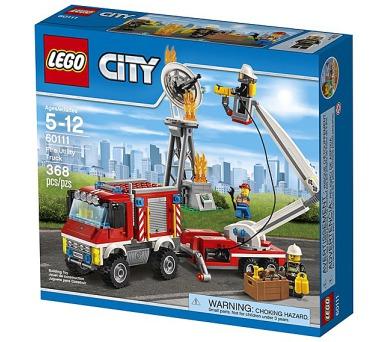 Stavebnice Lego® City Fire 60111 Zásahové hasičské auto