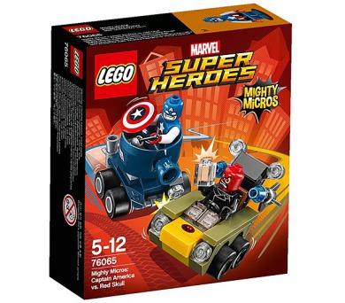 Stavebnice Lego® Super Heroes Mighty Micros 76065 Kapitán America vs. Red Sku