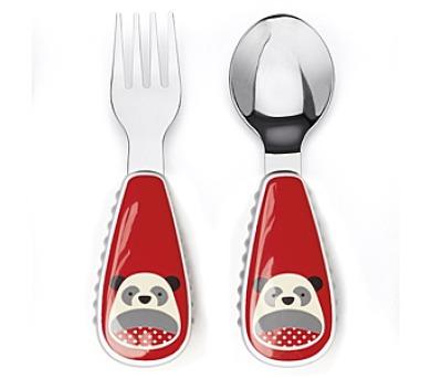 SKIPHOP Zoo lžička a vidlička - Panda