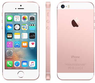 Apple iPhone SE 64 GB - Rose Gold