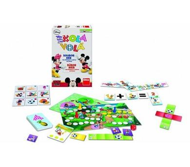 Škola volá soubor her pro přípravu k zápisu do školy společenská hra v krabici 20x30x6cm