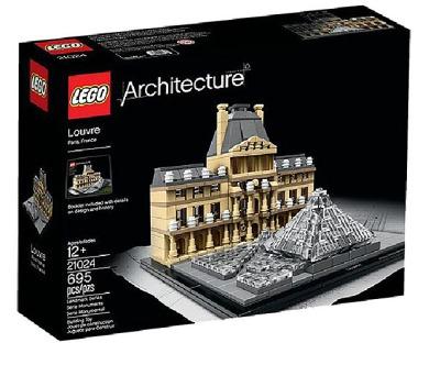 Stavebnice Lego® Architecture 21024 Louvre