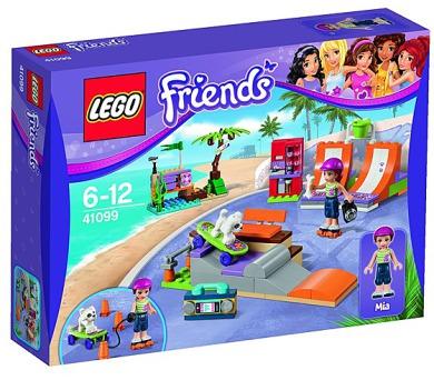Stavebnice Lego® Friends 41099 Skatepark v městečku Heartlake