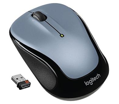 Logitech Wireless Mouse M325 Light Silver / optická / 3 tlačítka / 1000dpi