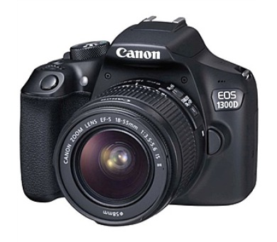 Canon EOS 1300D + objektiv 18-55 IS II + DOPRAVA ZDARMA
