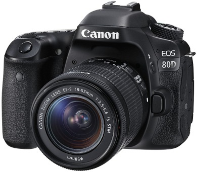 Canon EOS 80D + 18-55 IS STM