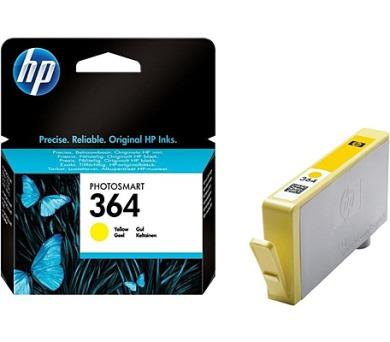 Inkoustová náplň HP No. 364