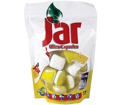 JAR tablety do myčky 27ks citron