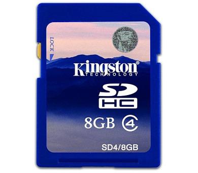 Kingston SDHC 8GB Class4