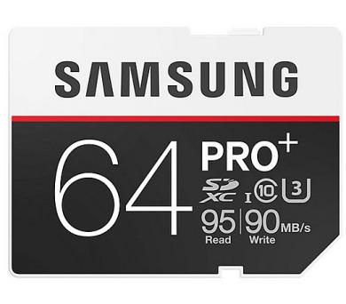 Samsung SDXC PRO+ 64GB UHS-I U3 (95R/90W)