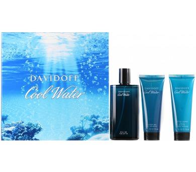 Davidoff Cool Water 125ml + 75ml balsám po holení + 75ml sprchový gel + DOPRAVA ZDARMA