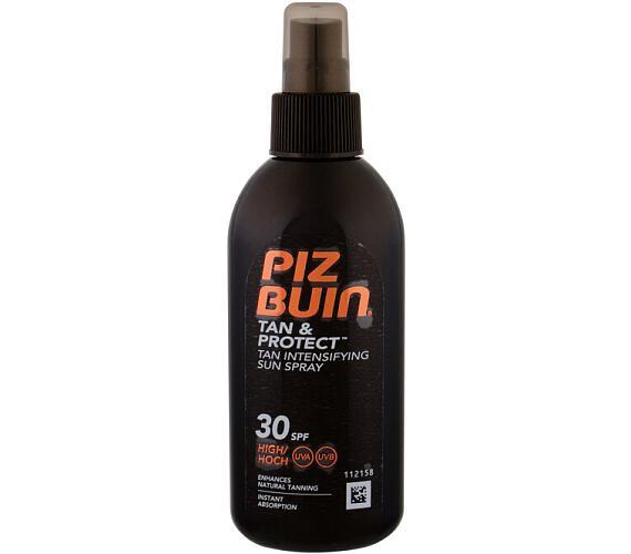 Sprej na opalování Piz Buin urychlující proces opalování Tan & Protect SPF 30 (Tan Accelerating Oil Spray) 150 ml