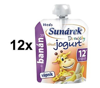 Sunárek Do ručičky s banány a jogurtem