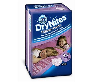 Plenkové kalhotky HUGGIES® Dry Nites Medium - Girls 17-30 kg