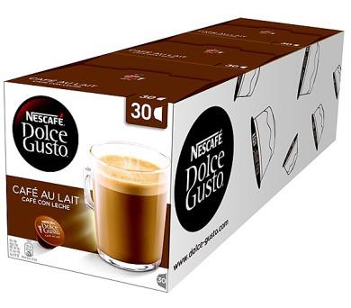 NESCAFÉ Cafe AuLait 30 ks k Dolce Gusto 3 balení