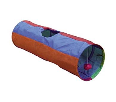 Nobby Rainbow šustivý tunel 25x86,5cm - fialovo-oranžová