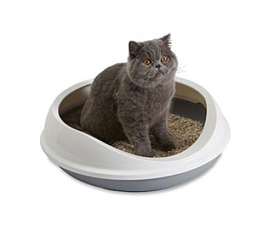 Savic Figaro kočičí 55x48,5x15,5cm - šedá