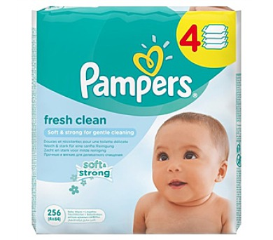 Pampers Baby Fresh clean