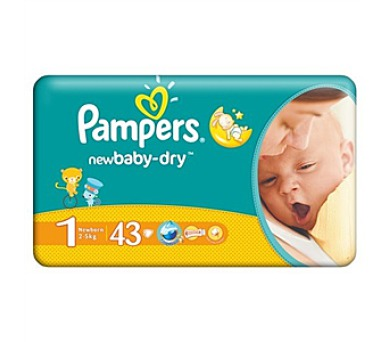 Pampers New Baby NEWBORN vel. 1